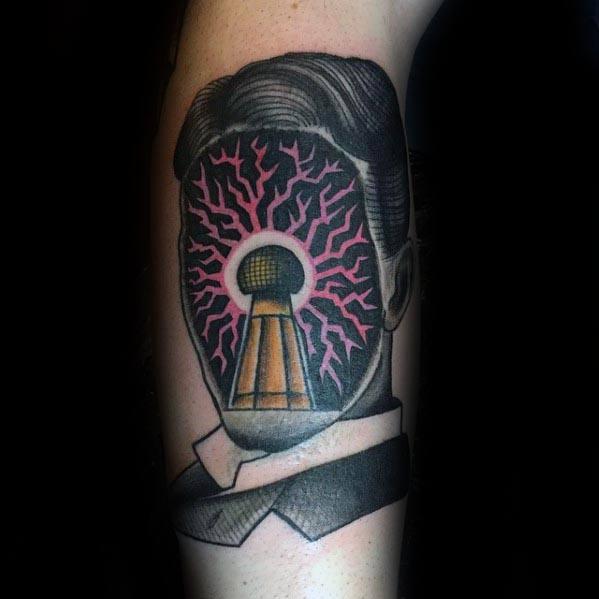 Nikola Tesla Mens Tattoo Ideas