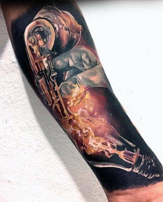 Nikola Tesla Tattoo Ideas On Guys