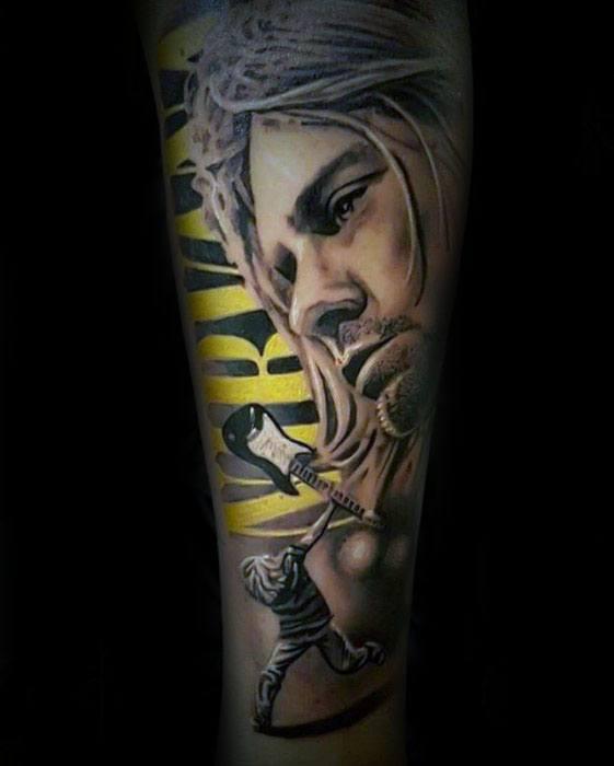 Nirvana Mens Tattoo Ideas
