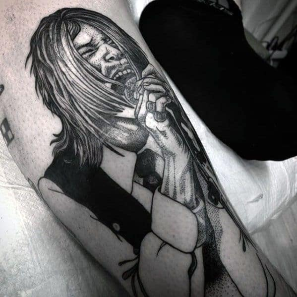 Nirvana Tattoo Design Ideas For Males