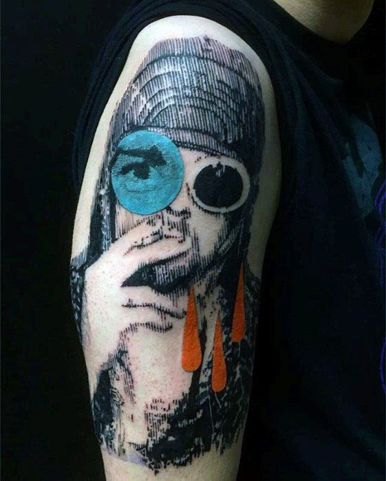 Nirvana Tattoo Designs For Guys
