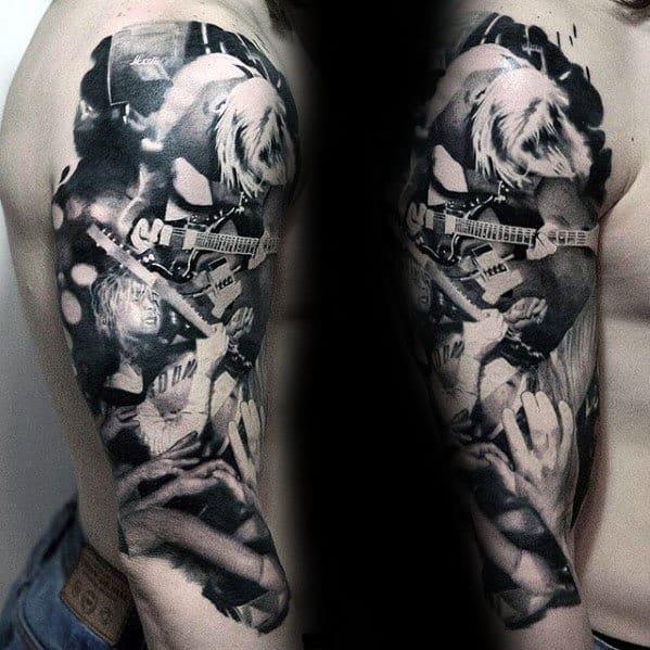 Nirvana Tattoo Ideas For Males