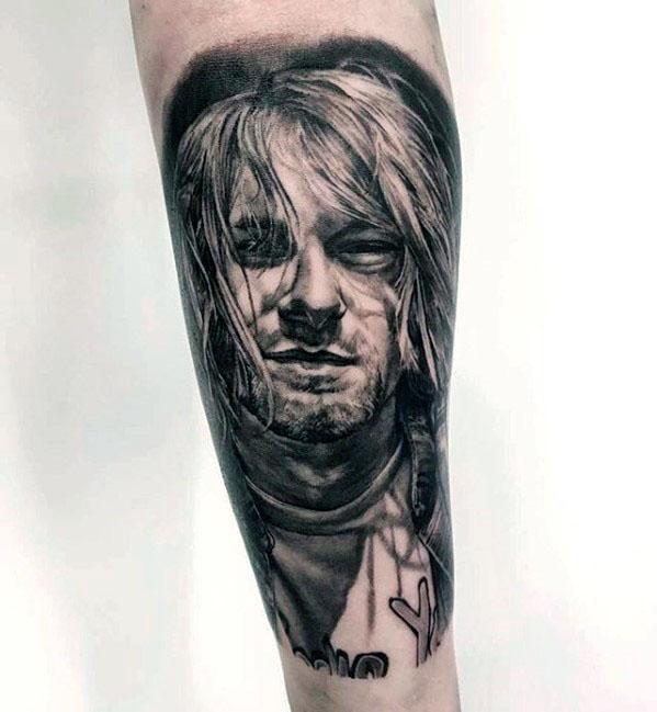 Nirvana Tattoo On Men