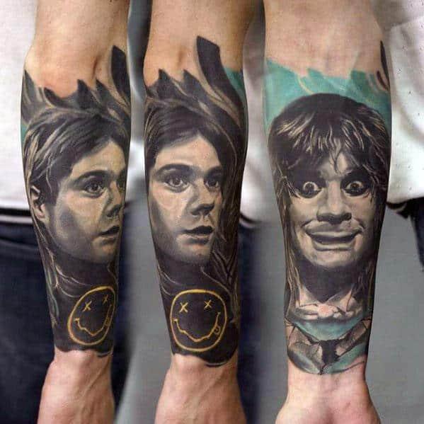 Nirvana Tattoos Guys