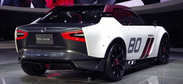 Nissan IDx Rear