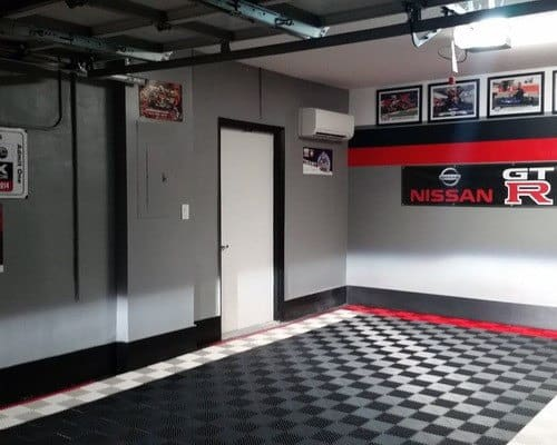 Nissan Themed Colors Garage Paint