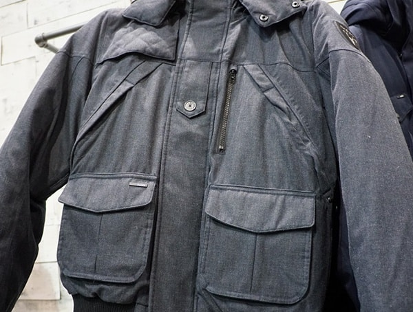 Nobis Mens Heathered Down Winter Jacket