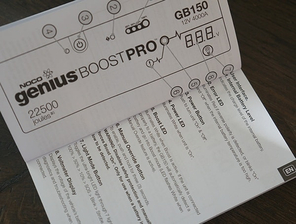 Best Noco Genius Boost Jump Starters Manual Guide