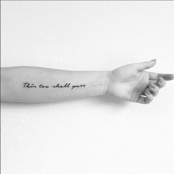 Nomi Script Tattoo