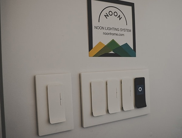 Noon Lighting System Wall Switches 2019 Nahb Show Las Vegas