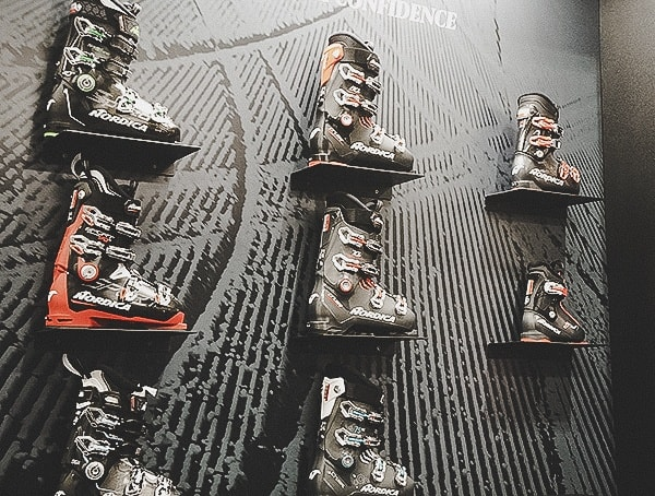 Nordica 2019 Outdoor Retailer Snow Show Ski Boot Collection Wall