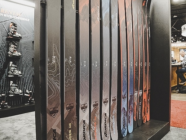 Nordica Ski Collection Outdoor Retailer Snow Show 2019