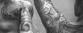 100 Norse Tattoos For Men – Medieval Norwegian Designs
