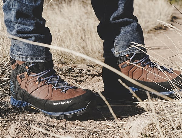 Nubuck Leather Brown And Blue Mens Garmont Toubkal Gore Tex Hiking Boots Review