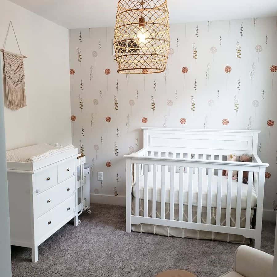 Nursery Wallpaper Ideas Mimodernfarmhouse