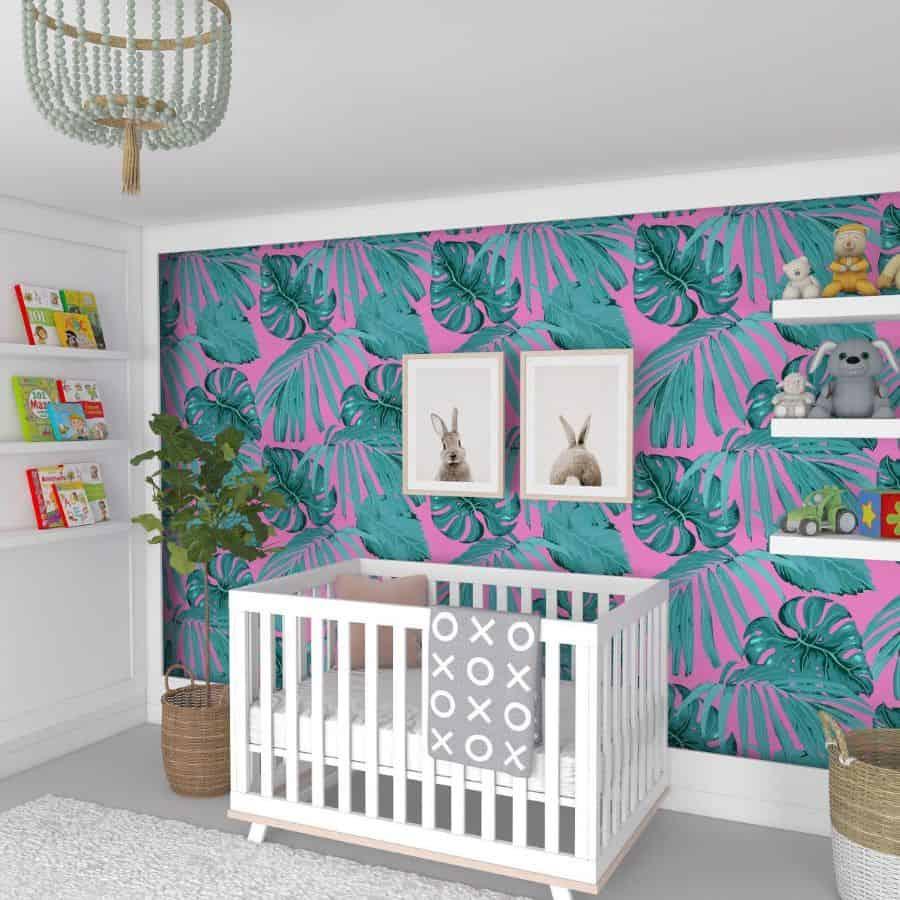 Nursery Wallpaper Ideas Wallsnobs