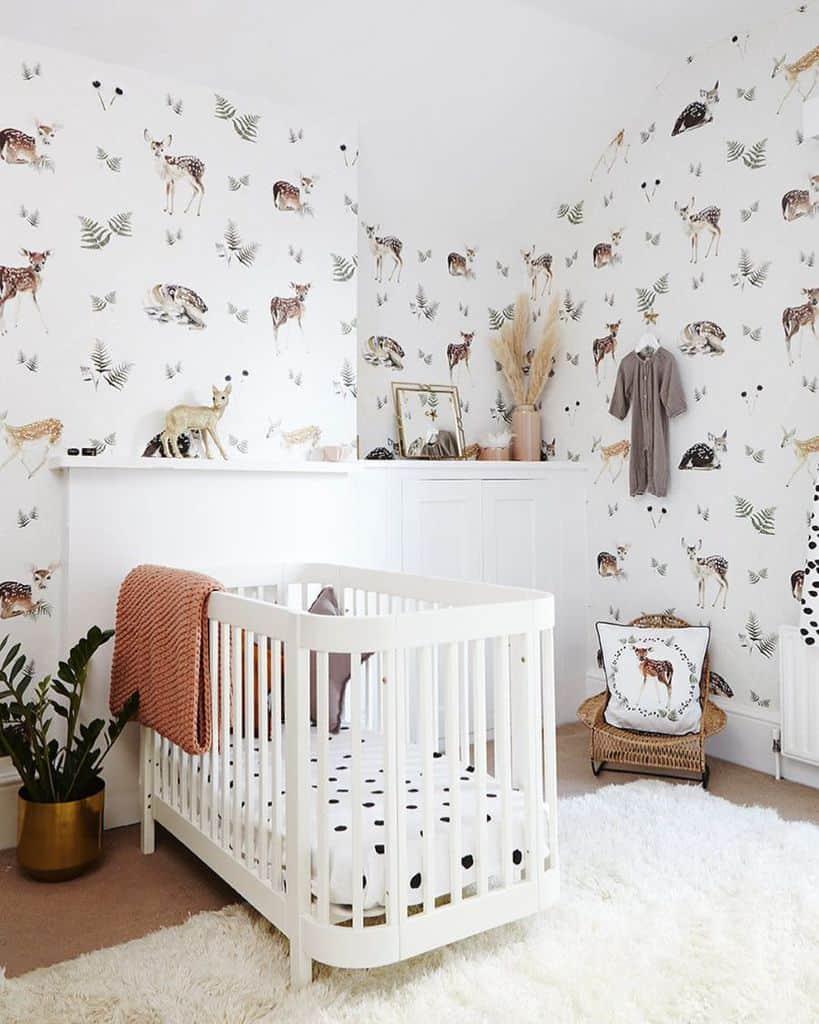 Nursery Wallpaper Ideas Wild Hearts Wonder