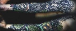 50 Oak Tree Tattoo Designs For Men – Inked Leaves And Acorns