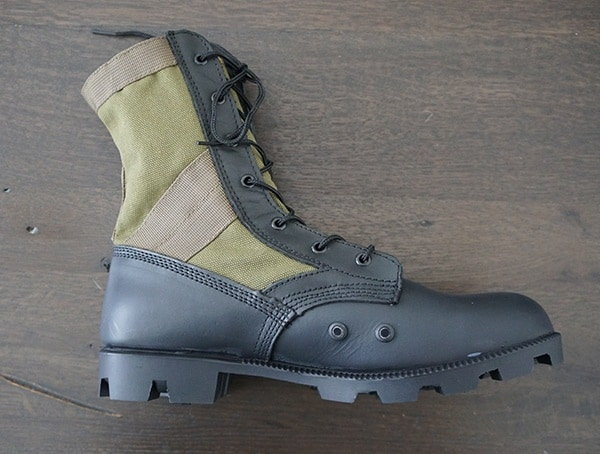 Od 30 Footwear Olive Green Jungle Boot For Men