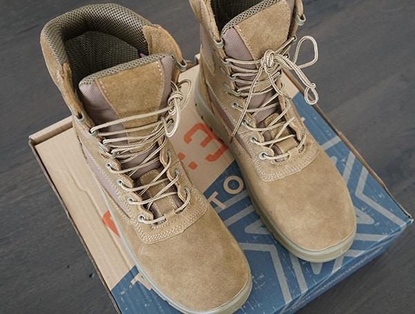 Od 30 Mens Coyote A3 Combat Boot
