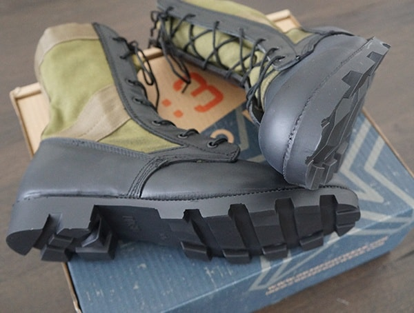 Od 30 Mens Jungle Boot With Rubber Panama Outsole