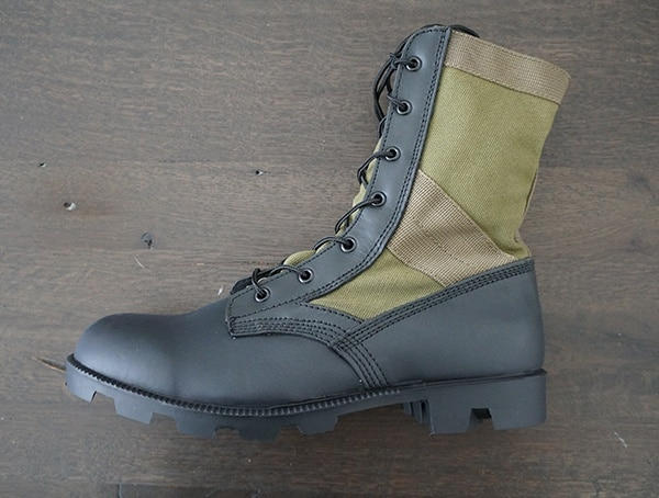 Od 30 Mens Olive Green Jungle Boots