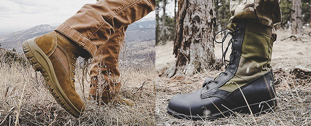 OD:30 Footwear Mens Coyote A3 Combat Boot And Olive Green Jungle Boot Review