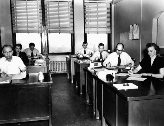 Office Business Outfits For Men From 1950s