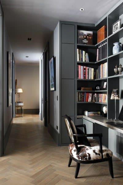 Office Desk Bookshelf Ideas