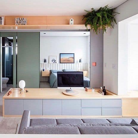 Office Desk Stuido Apartment Ideas
