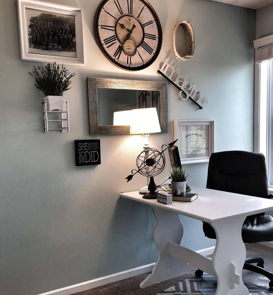 office diy wall decor ideas smiths_farmhouse