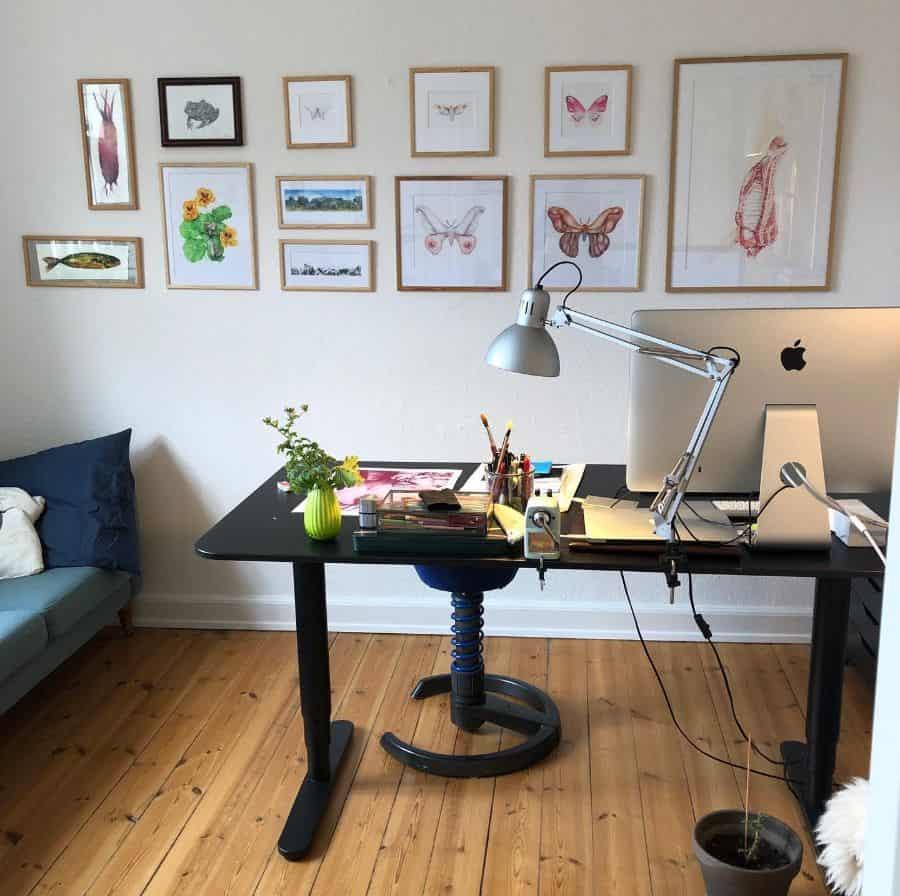 Office Picture Wall Ideas Eneesgaard