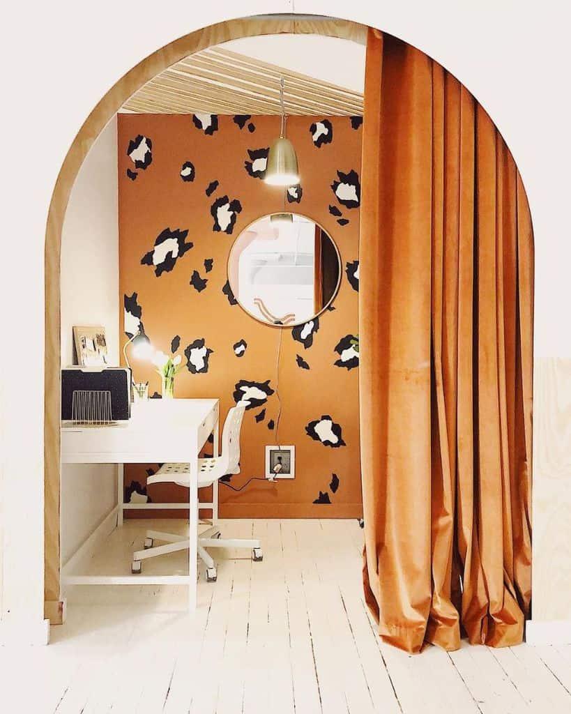 Office Wallpaper Decor Folkandfloradesignco