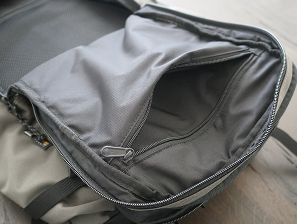 Ogio Alpha Convoy 525 Backpack Main Interior Compartment Pocket
