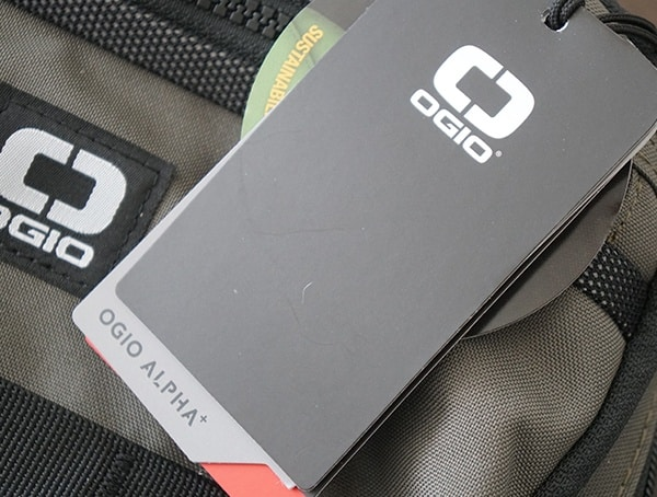 Ogio Alpha Convoy 525 Backpack Tag