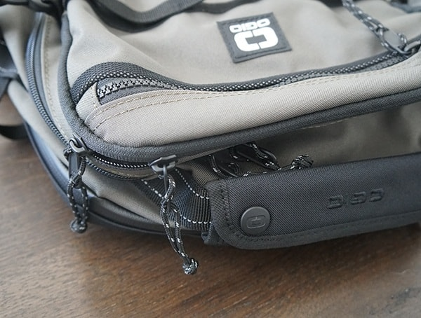Ogio Alpha Convoy 525 Olive Backpack Top Pull Handle
