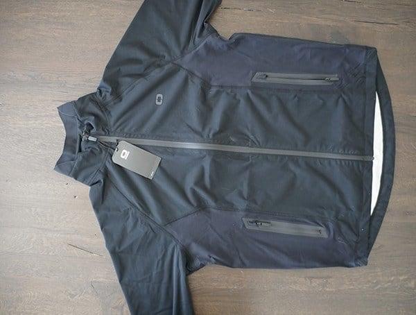 Ogio Alpha Mens All Elements Elite Rain Jacket Front