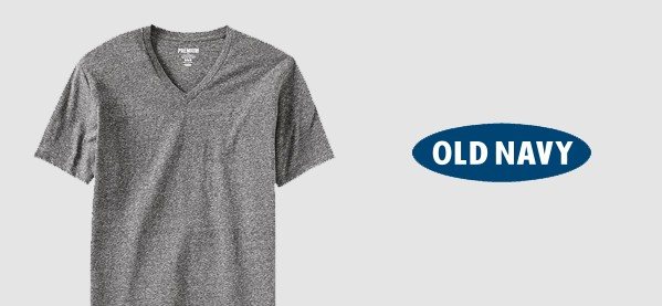 Old Navy V Neck T-Shirts For Men