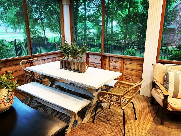 Old Relaxing Lanai Screened In Porch Wrightbydesign