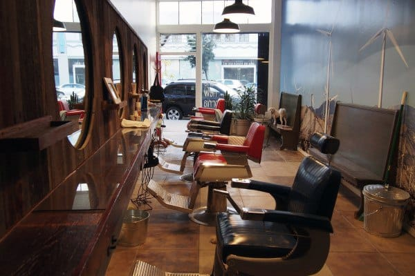 Old School Barber Shop Designs