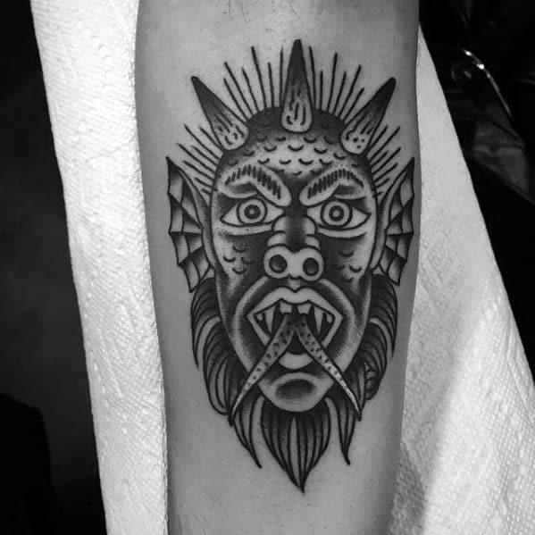 50 Traditional Devil Tattoo Designs For Men