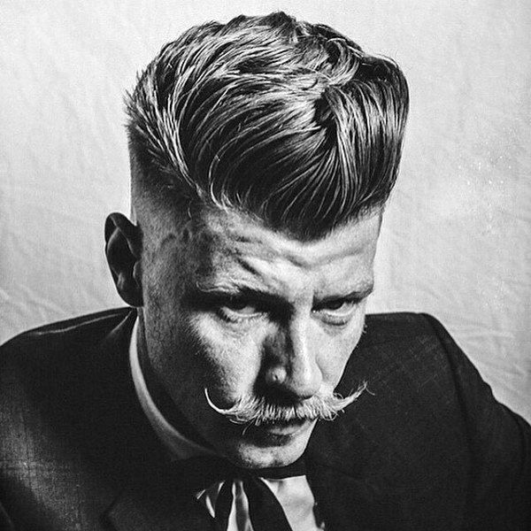 Old School Hairstyles For Medium Length Hair For Men