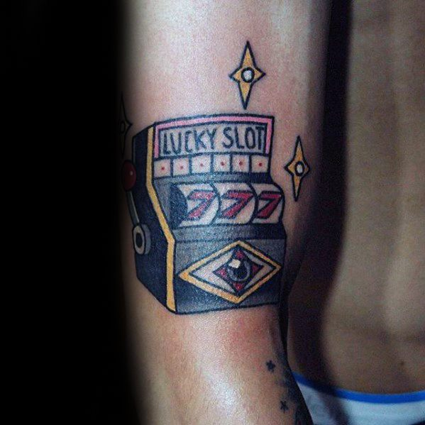 Slot Machine Tattoo
