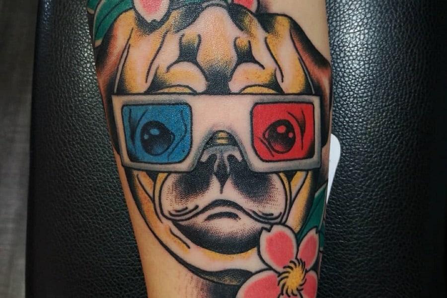 Top 77 Best Pug Tattoo Ideas – [2020 Inspiration Guide]