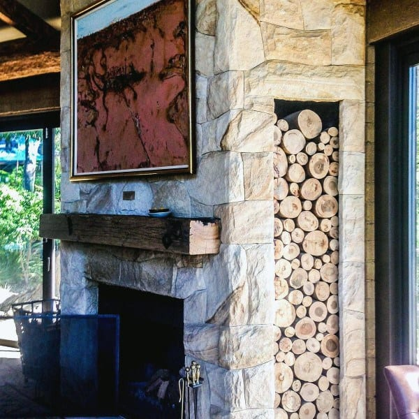 Old Stone Fireplace Designs