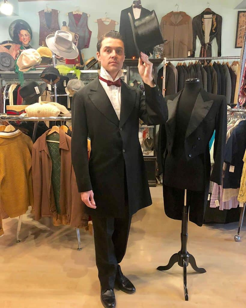 Old Style Victorian Suit