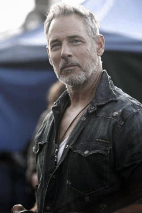 Older Gentleman With Grey Beard Style