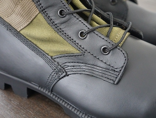 Olive Green Mens Od 30 Jungle Boots Lace Detail