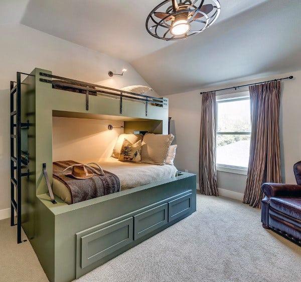 Top 70 Best Bunk Bed Ideas - Space Saving Bedroom Designs