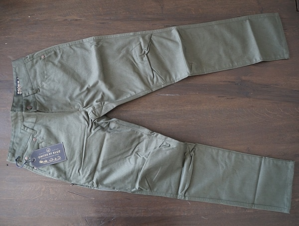 Olive Guys Outdoor Pants United By Blue Cartwright